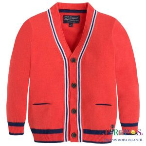 Cardigans tricot niño front